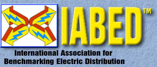 International Association for Benchmarking Electric Distribution logo
